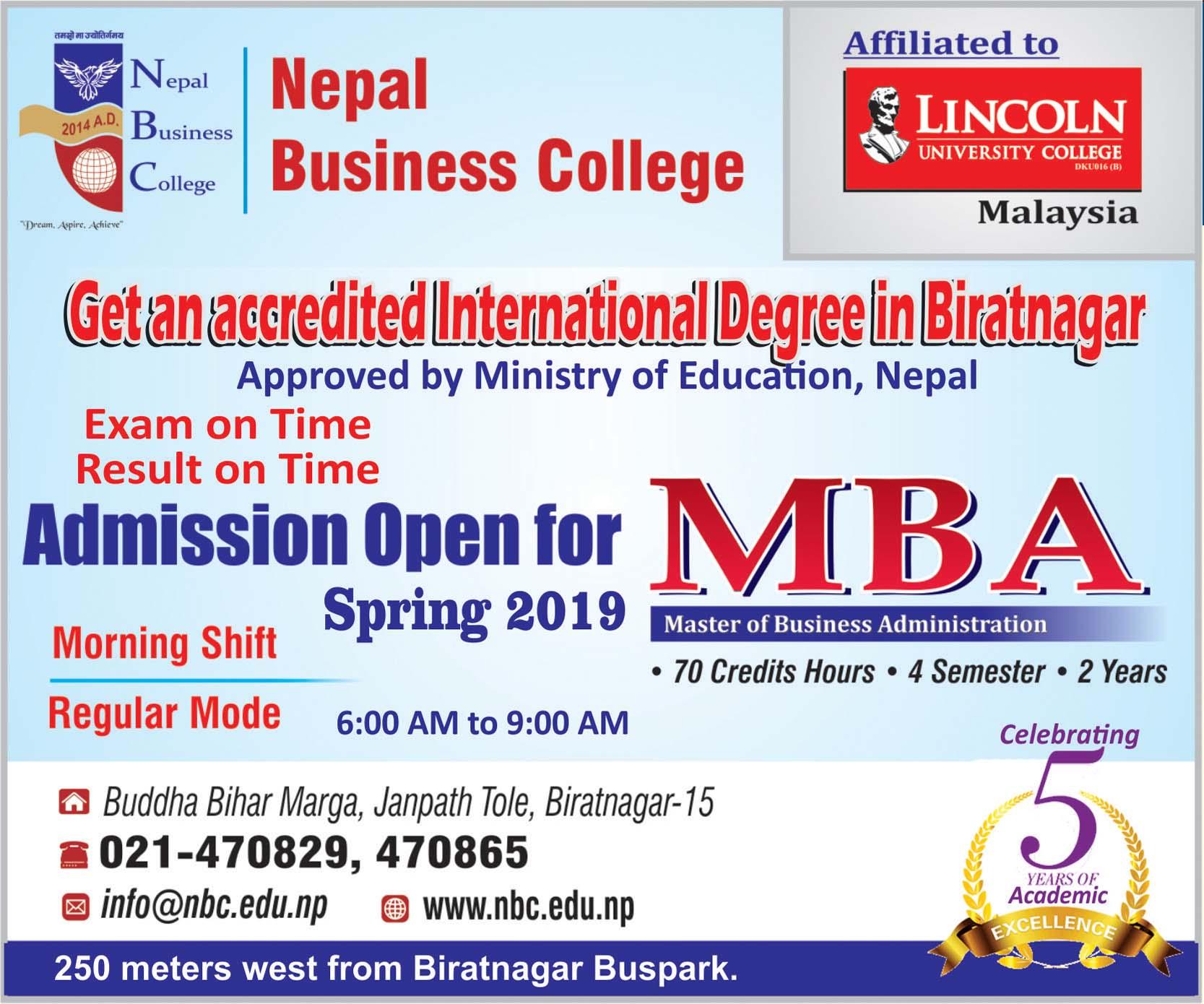nepal Bisiness College